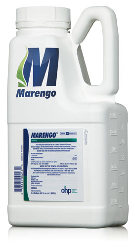 Marengo pre-emergent herbicide new mode of action MOA OHP Olympic Horticultural Products
