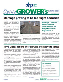 OHP Savvy Grower Newsletter - Summer 2013