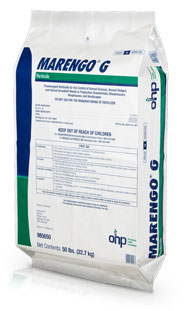 Marengo G pre-emergent herbicide from OHP, Inc.