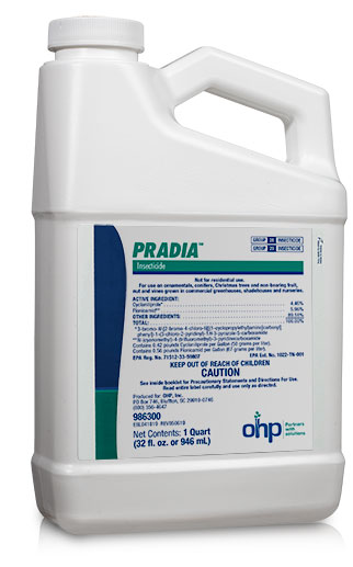 Pradia Insecticide cyclaniliprole and flonicamid foliar spray aphids, thrips and whiteflies