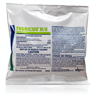 Thuricide N/G biological insecticide