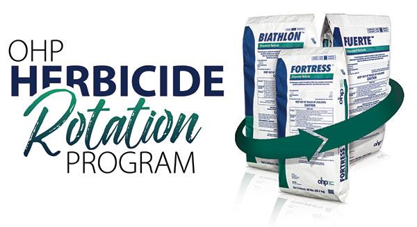 OHP's Herbicide Rotation Program 2020